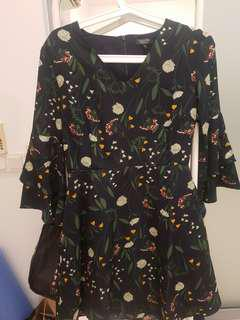 *Lightly Used* Zalora Collection Floral Dress
