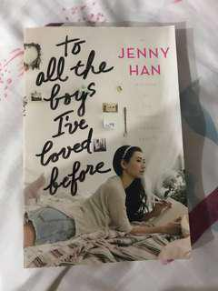 To All The Boys I've Loved Before (English)