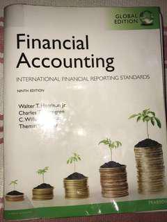 Financial Accounting Textbook - Pearson | Good condition