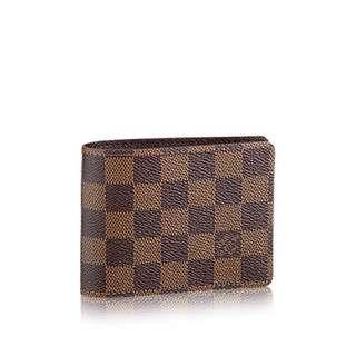 (Closed) Louis Vuitton Damier Multiple Wallet