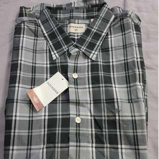 [BRAND NEW] Dockers Short Sleeve Checkered Shirt (M)