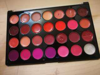 🚚 BH Cosmetics 28 lisptick pallette