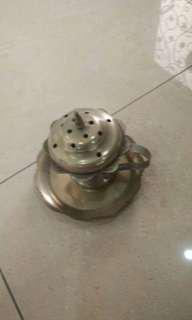 Antique Brass set setanggi tembaga