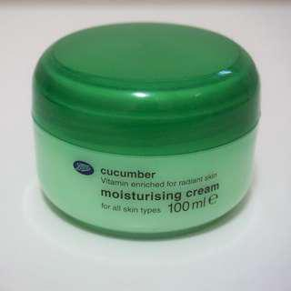 Boots Cucumber Moisturising Cream 100ml