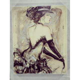 "Impressionist print - my fair lady 16"" x 20"""