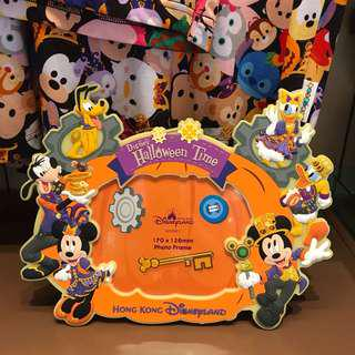 PO HK Disneyland Halloween design photo frame magnet
