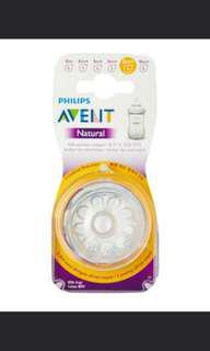 Avent Natural Teat 6m+