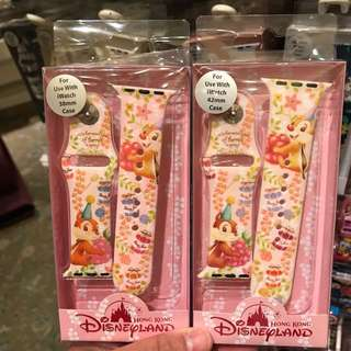PO HK Disneyland chip n dale iWatch 38mm and 42mm strap