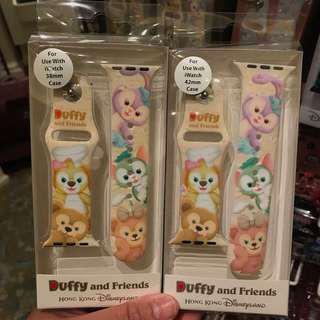 PO HK Disneyland Duffy and friends iWatch 38mm and 42mm strap
