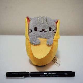 扮香蕉貓貓公仔