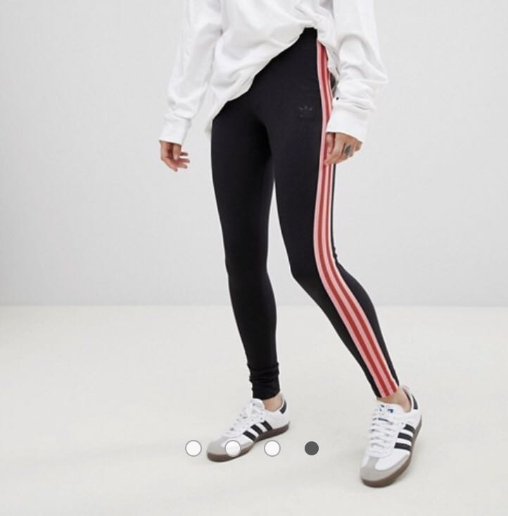 1c36ab8f44a adidas Originals Colorado Mesh Panelled Leggings In Black And Pink, Women's  Fashion, Clothes, Pants, Jeans & Shorts on Carousell