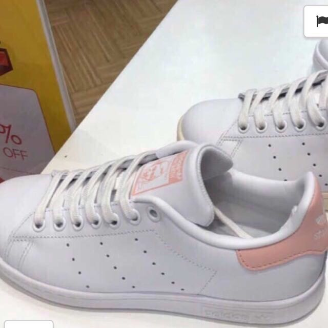 adidas stan smith baby pink super rare 655cdba76