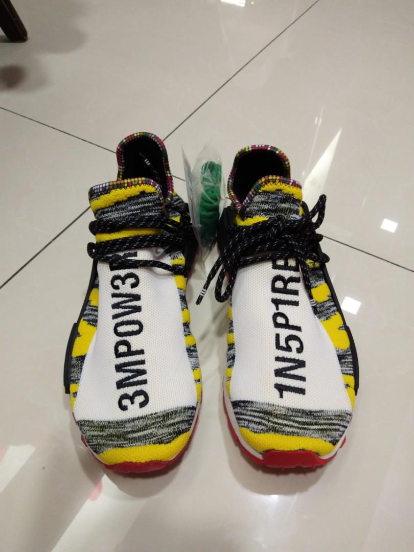 Adidas X X Adidas pharrell williams solarhu nmd (ready stock), Fesyen Lelaki a99111
