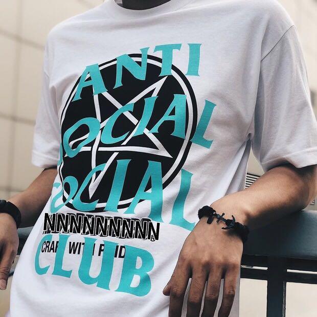 c325a1f3cf4f Anti Social Social Club x Neighborhood Black Filth Fury Tee