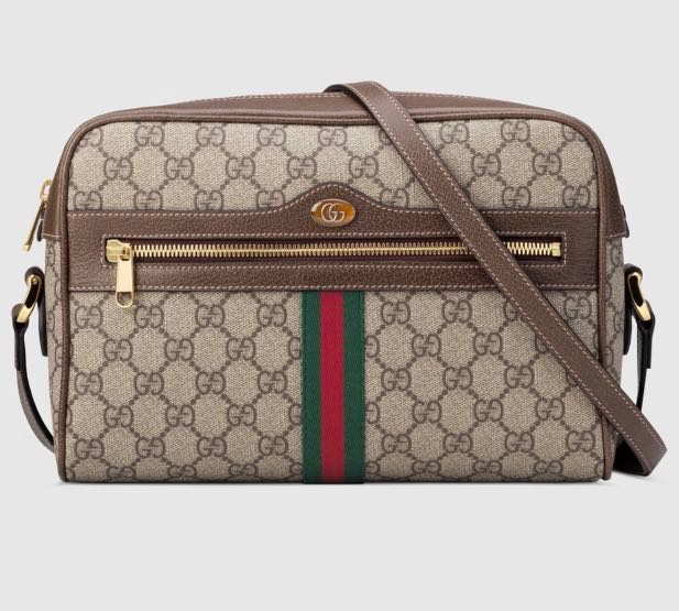 3f3b22ae05e4 Authentic GUCCI Ophidia GG Supreme Shoulder Bag, Luxury, Bags ...