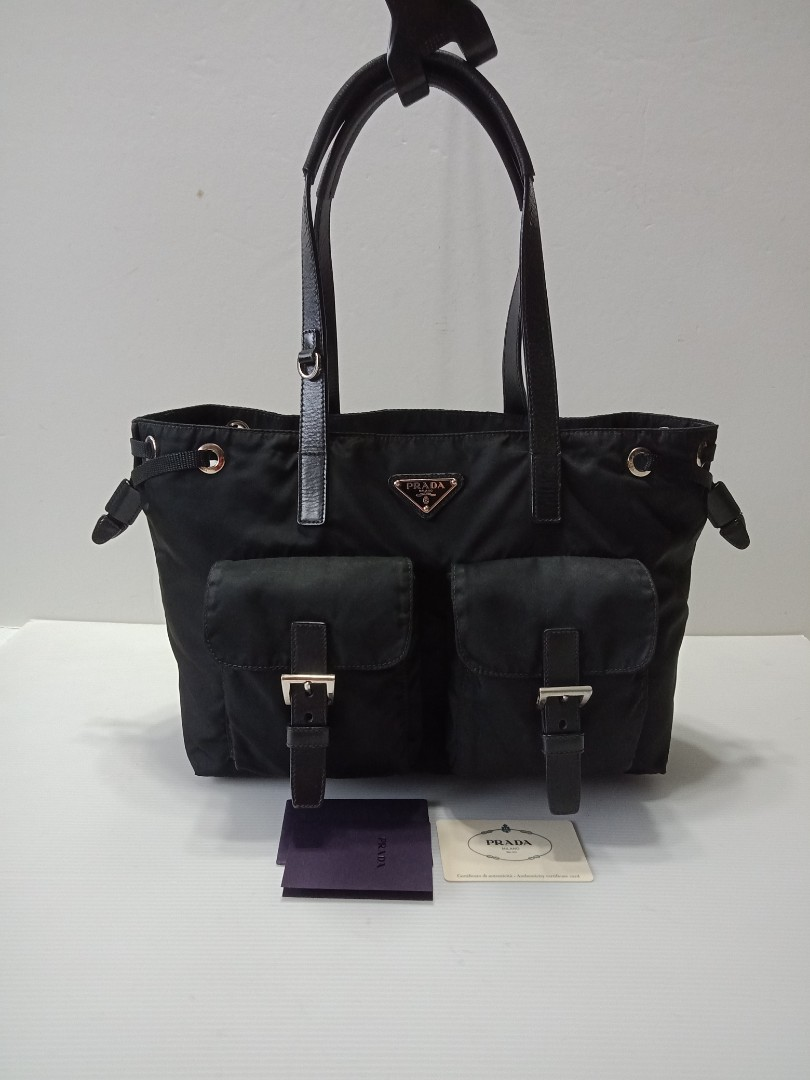 b4d8d0b80acc Authentic Prada tote bag, Luxury, Bags & Wallets, Handbags on Carousell