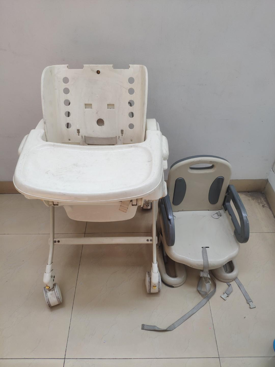 Baby Elle hugh Chair and Summer Booster seat