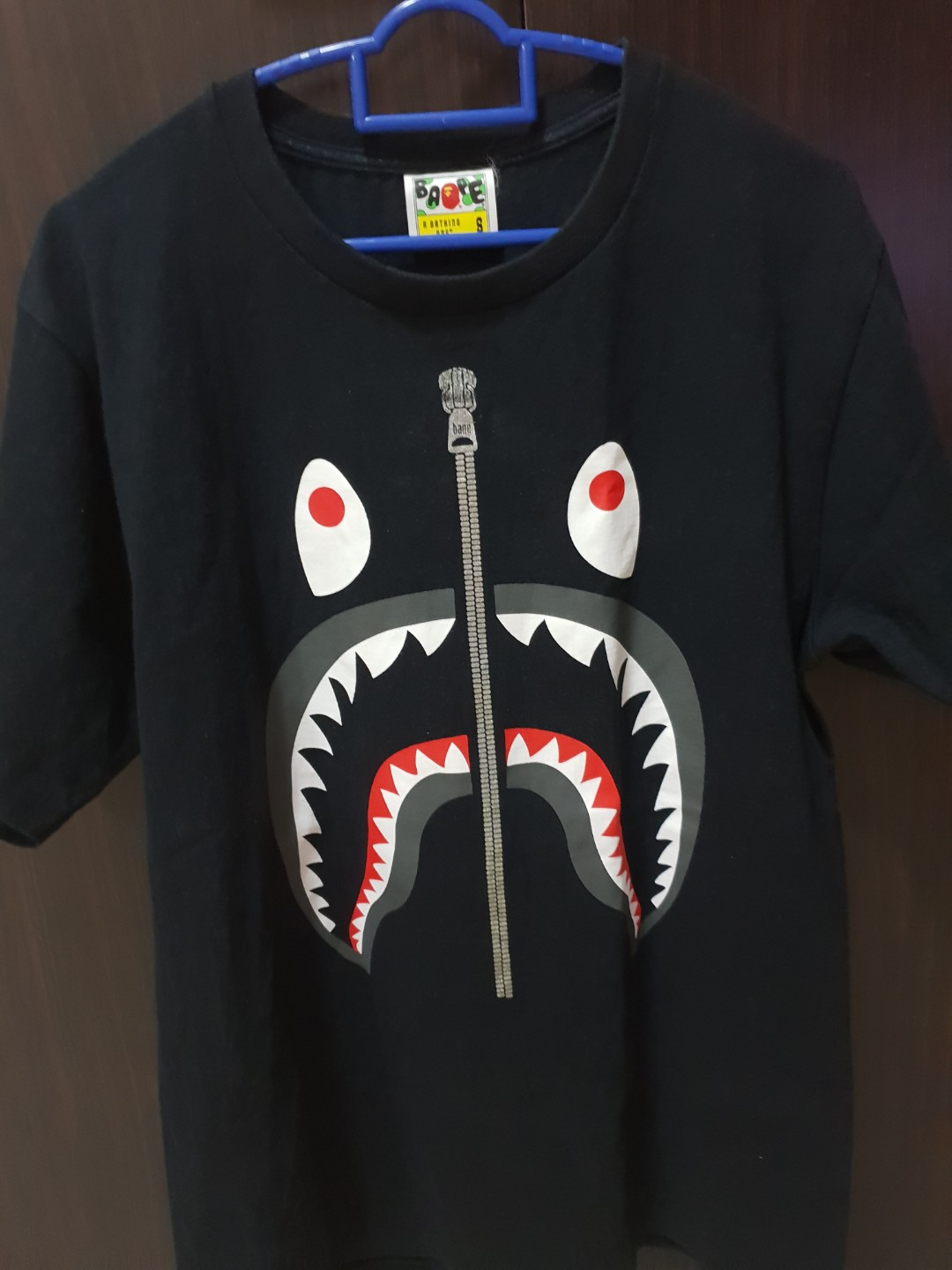 211706c5 Bape Shark Tee, Men's Fashion, Clothes, Tops on Carousell