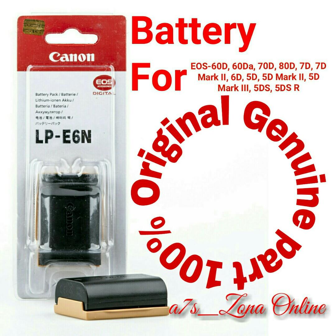 Baterai/Battery Canon LP-E6N Original