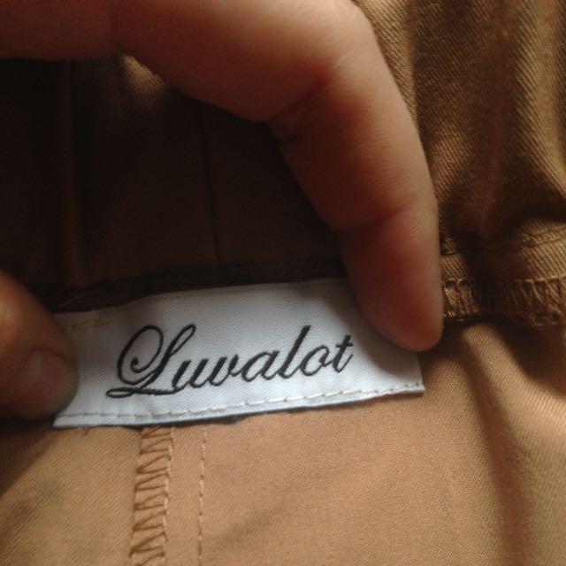 Beige/nude Pants Slouch Pants