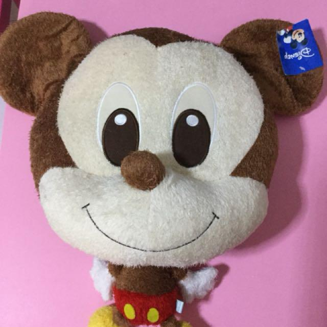 Big Headed Mickey Toys Games Stuffed Toys On Carousell