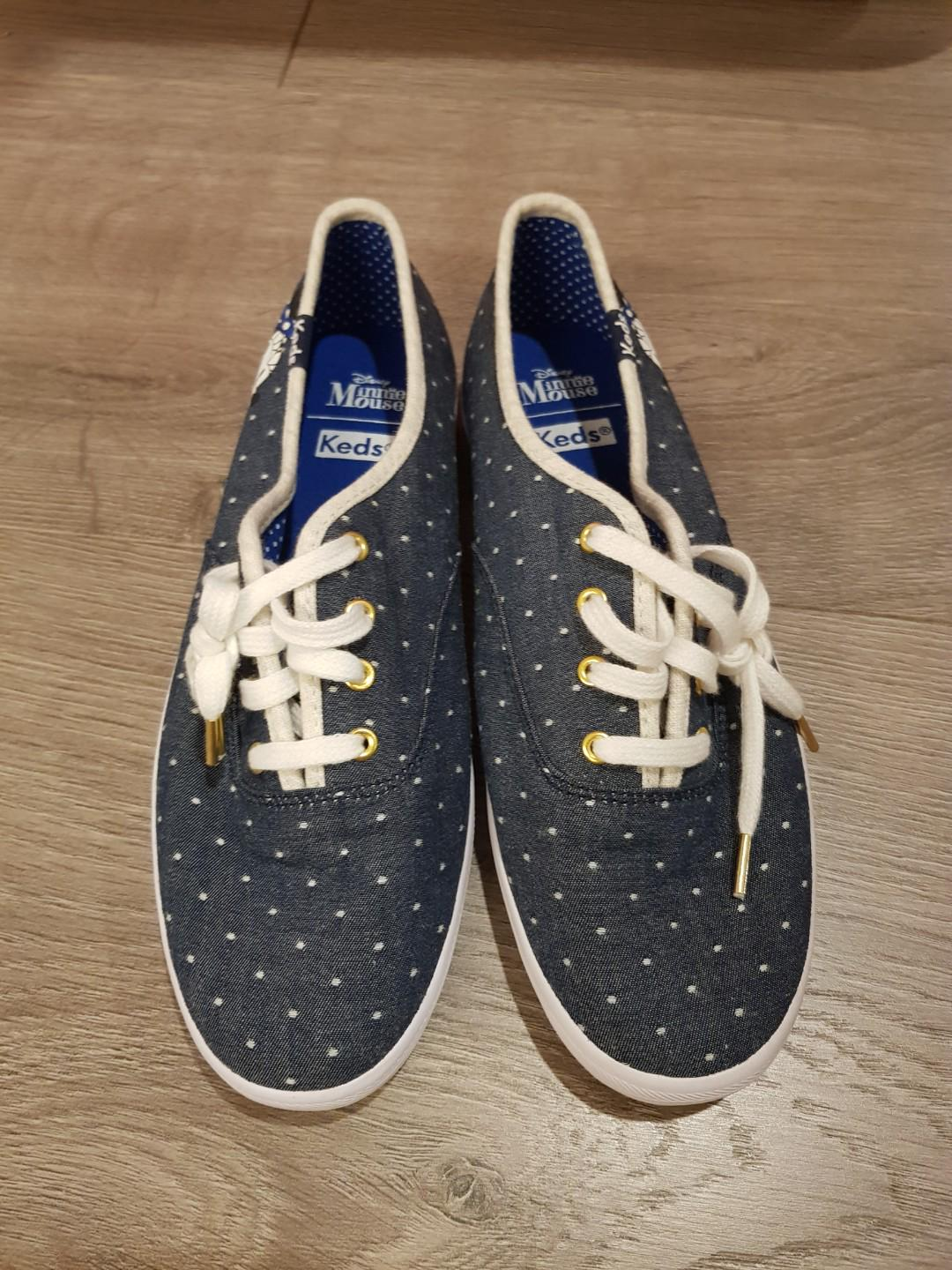 BN Keds Denim Minnie Mouse Sneakers