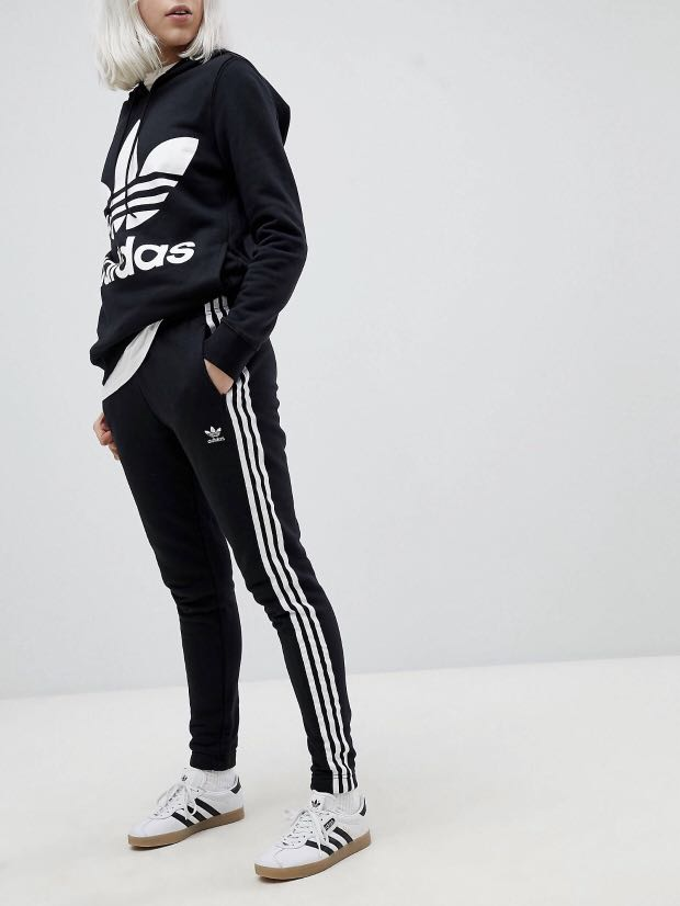 83ae007c9a55 BNWT  Adidas Originals adicolor Three Stripe Regular Fit Cuffed ...