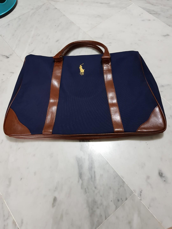 27f39afd70 Brand New Ralph Lauren Duffle Bag ( Navy Blue )