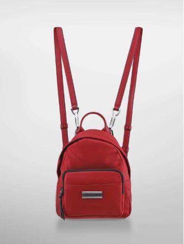 66a7bf191c Calvin Klein Miranda Nylon Studio Backpack (Mckj Red)
