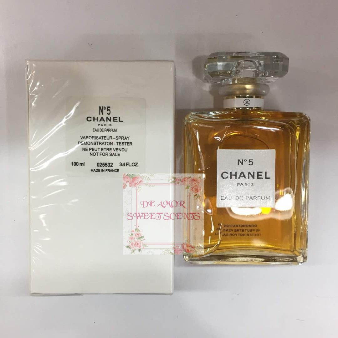 Chanel No5 Edp Original Tester Health Beauty Perfumes Nail