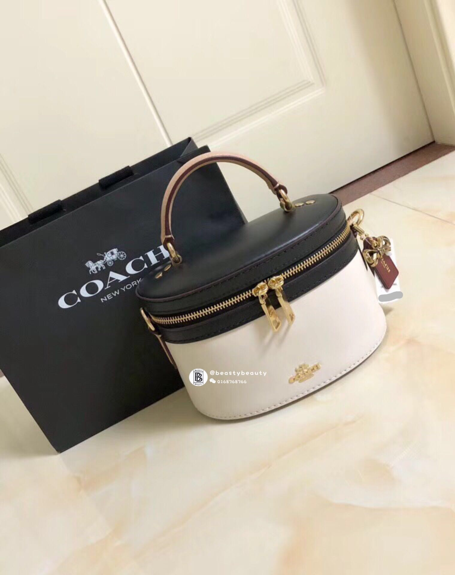 0c17f821e9 Coach Selena Trail Bag in Colorblock