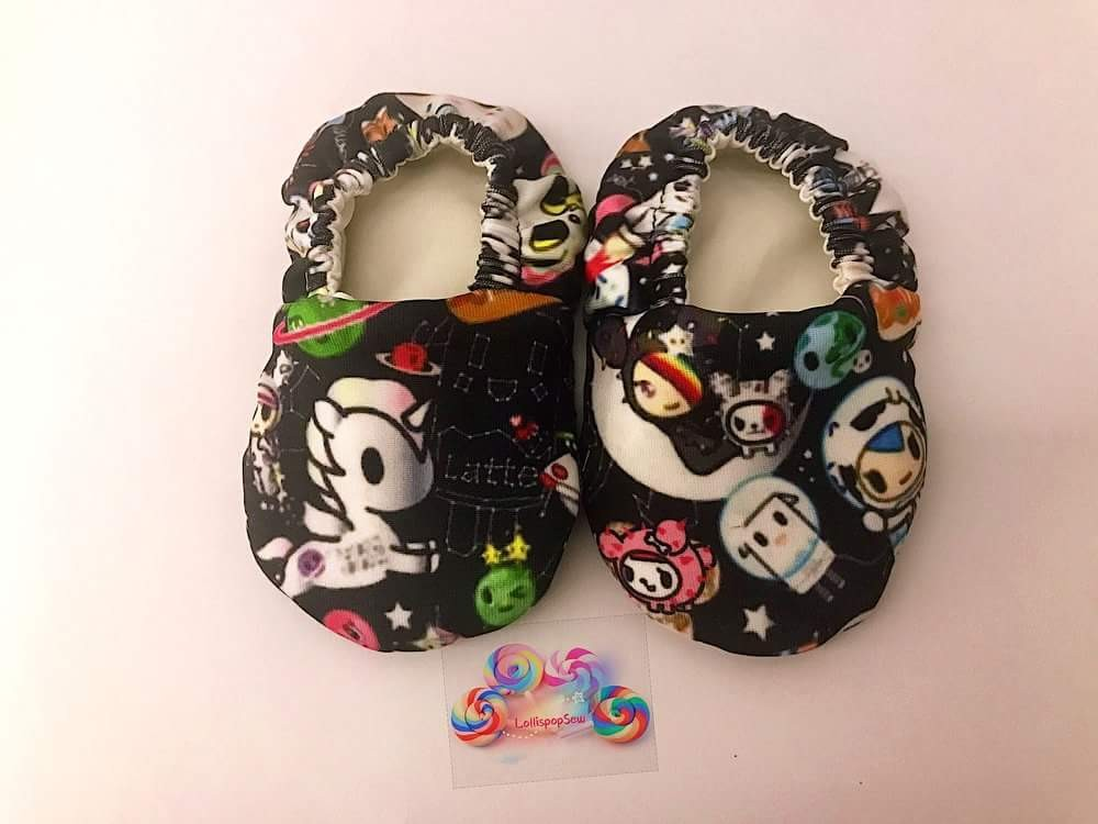 Custom Made Space Dream Pre-walker Shoes (Tokidoki)