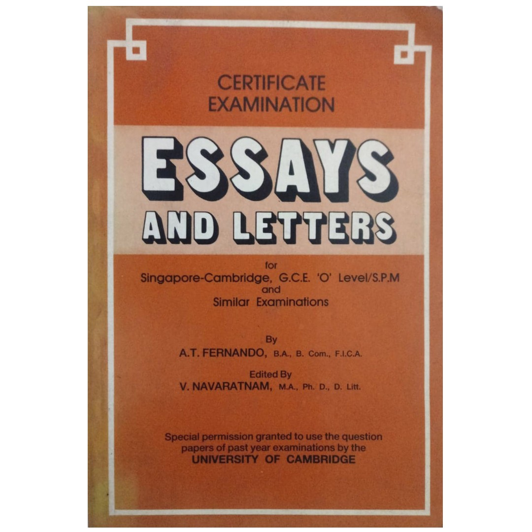 gce o level model english essays and letters books  stationery  photo photo