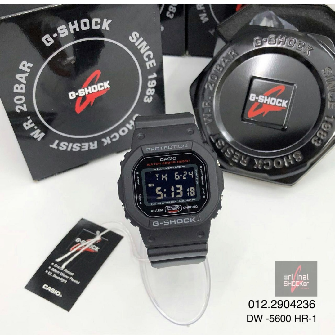G Shock Dw 5600 Hr 1 Men S Fashion Watches On Carousell