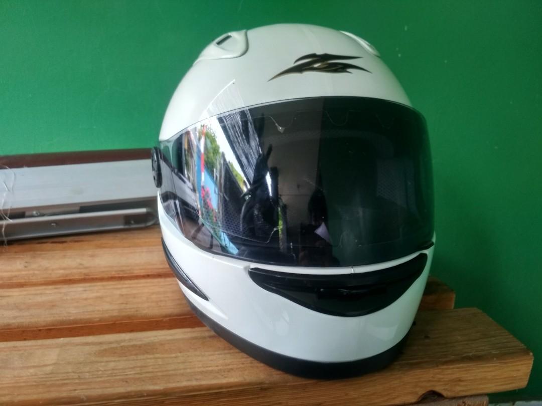 Helm Cargloss New Motor Di Carousell Cakil Hbc Rust Dust Hitam Doff Emas