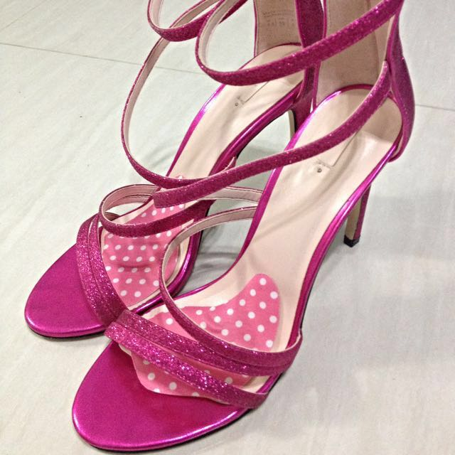 6a2bd3c262e5 Hot Pink Glam Shoes
