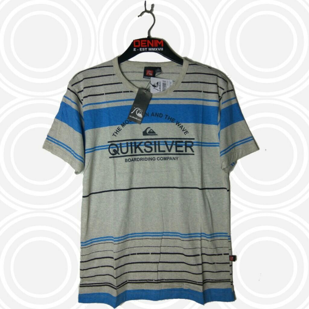 Kaos Distro quiksilver Fullprint Premium murah, Olshop Fashion, Olshop Pria on Carousell