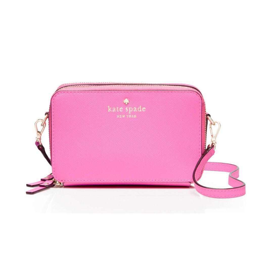 7b904c69cbcf Kate Spade Crossbody Shoulder Bag Cedar Street Carine (Rouge Pink ...