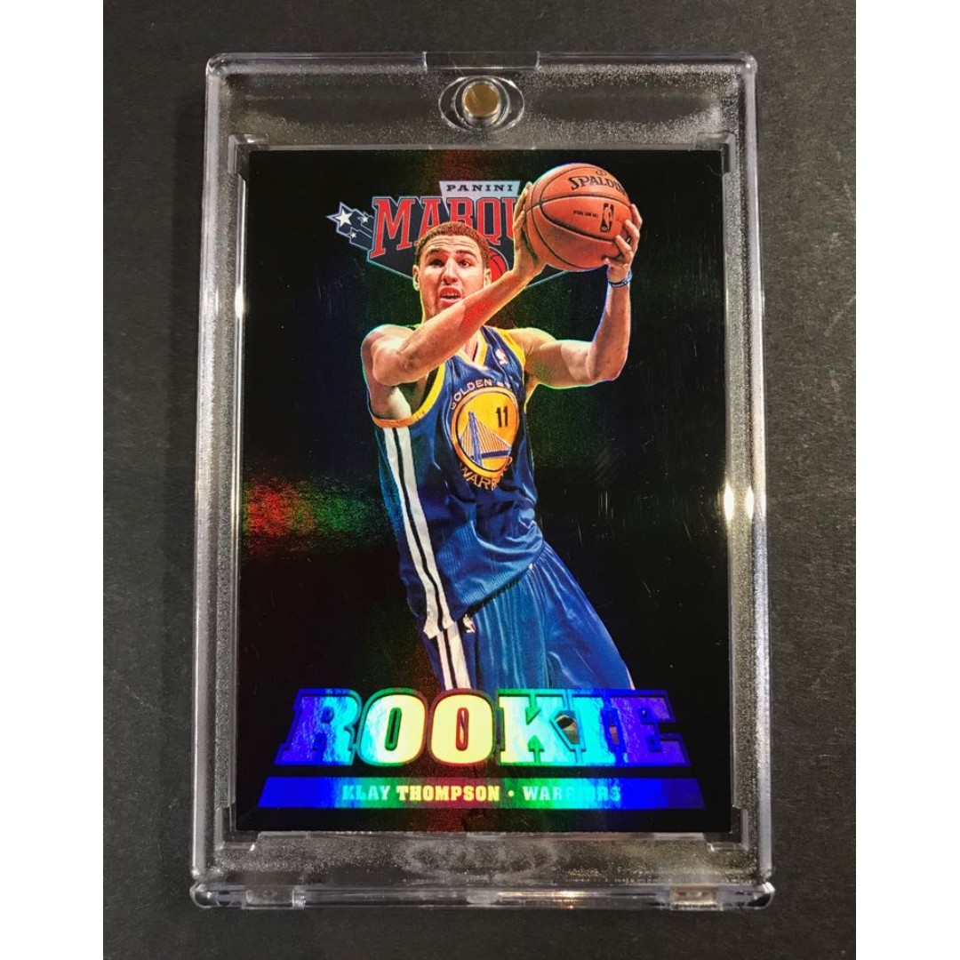0d4957e686c Klay Thompson Golden State Warriors Rookie Basketball Card