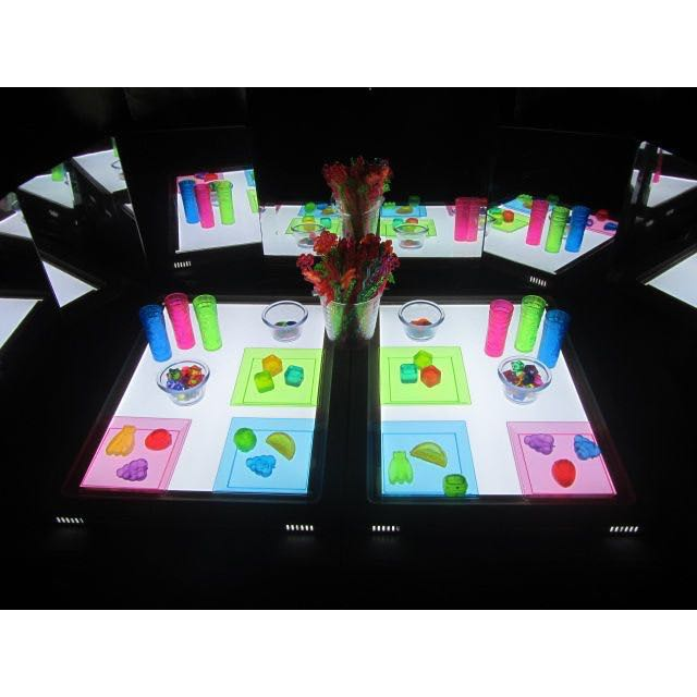 LED Light Table/Panel (Light Play Activities For Kids