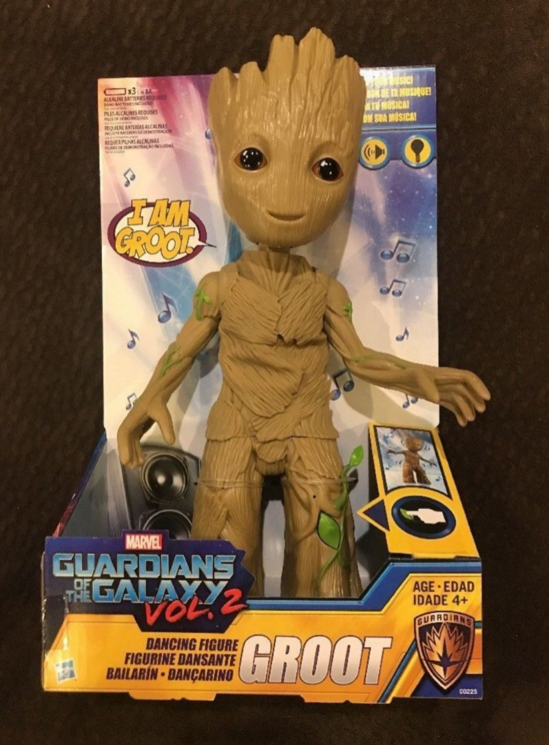 Film, TV & Videospiele Guardians of the Galaxy Movie Marvel Dancing Groot Kids Action Figure 11.5inch