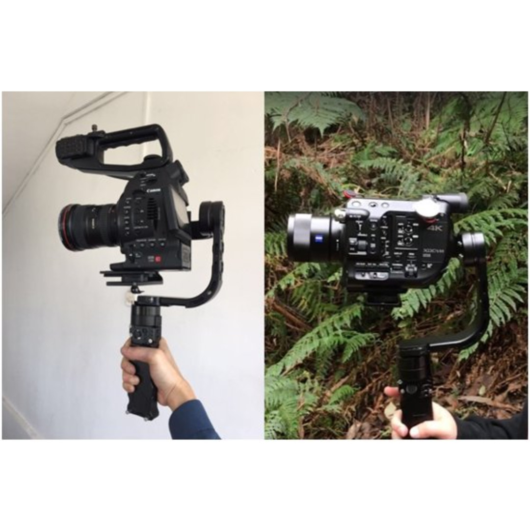 Nebula Riser Rail (For Canon C100, C200, C300 Series, Canon 1dx Series and  Sony FS5 Cameras)