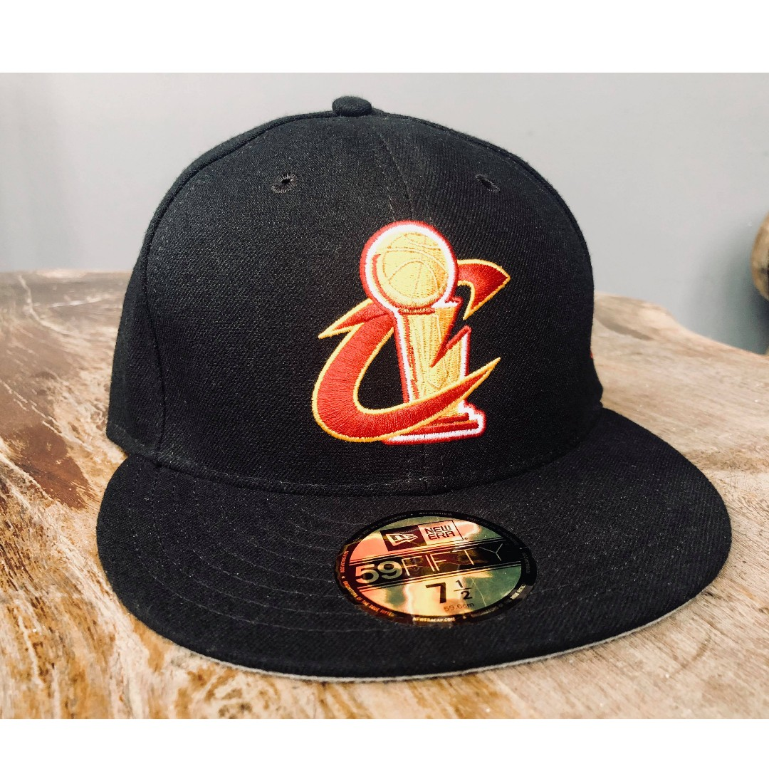 93950fbe New Era 59FIFTY size 7 1/2 Cleveland Cavaliers, Men's Fashion ...