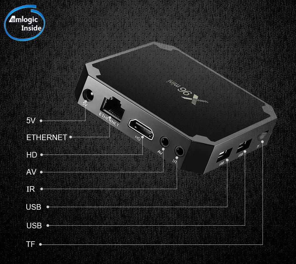 NEW X96 Mini 2GB 16GB Android TV Box Fully Loaded Including No Limits Magic