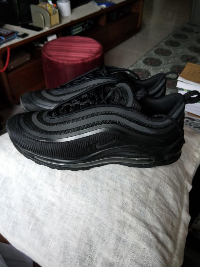 hot sale online dd532 47461 Nike air max 97 triple black, Mens Fashion, Footwear, Sneake