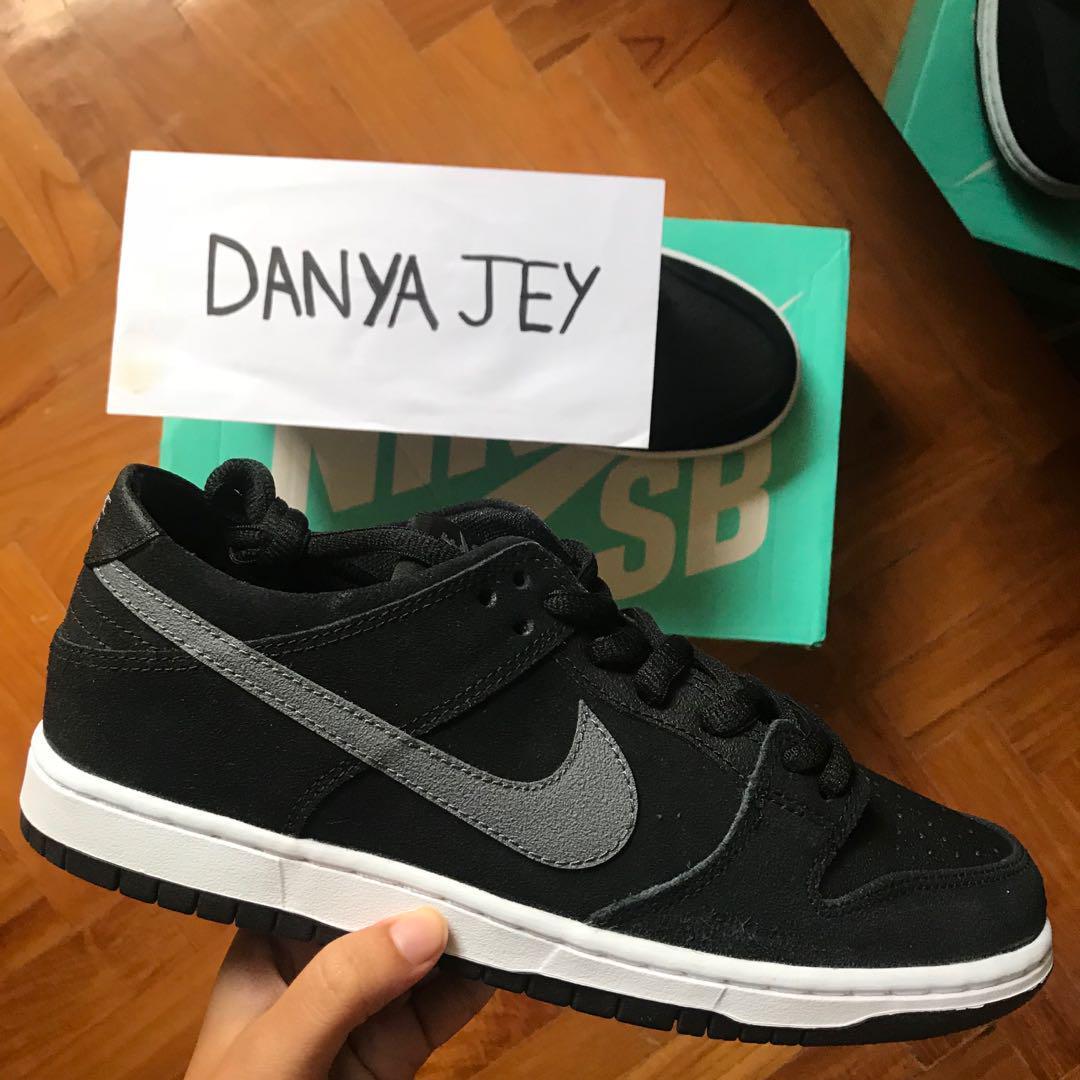half off fbabd 65b94 Nike SB Dunk Low Pro Ishod Wair Black/Light Graphite, Men's ...