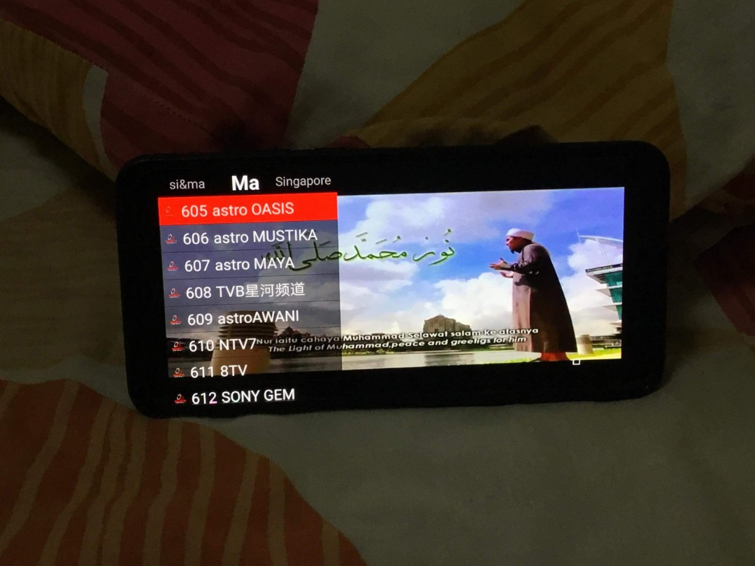 Offer    Live tv app for android device