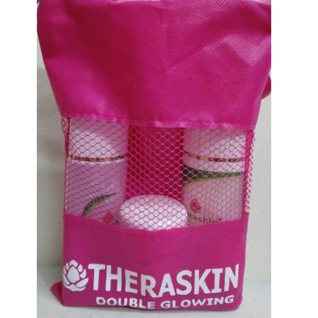 Paket Theraskin Double Glowing Kesehatan Kecantikan Rias Wajah Teraskin Di Carousell