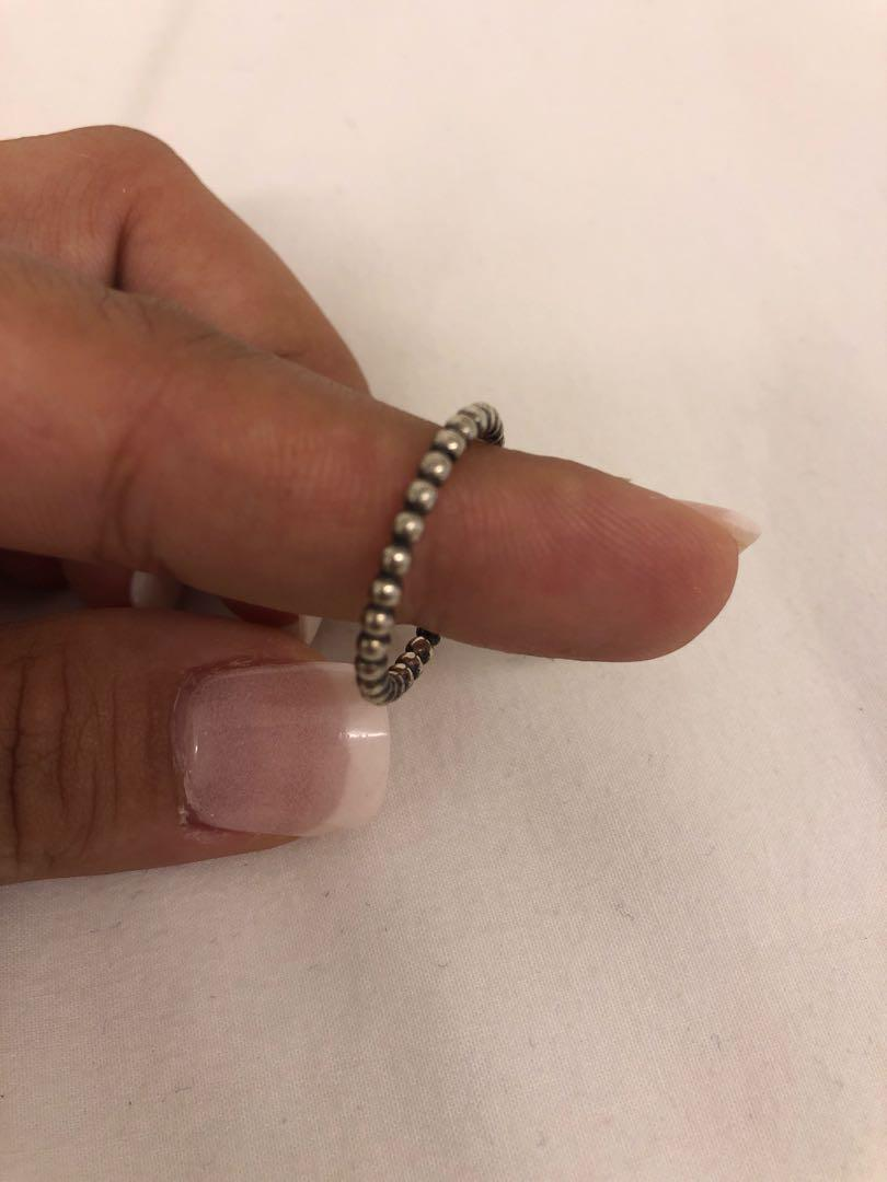 05d1a3ddc Pandora bubble stacking ring size58 on Carousell