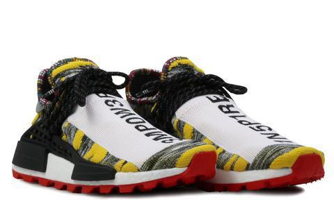 Pharrell x adidas Afro NMD Hu Pack schwarz Multi BB9527, 男裝, 男裝